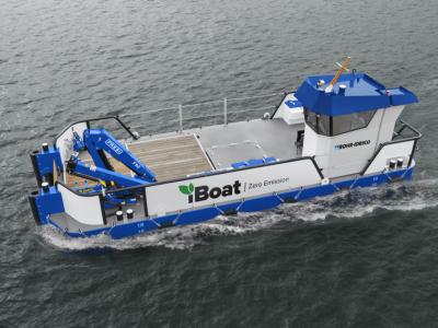 ROHR-IDRECO introduces its zero-emission iBoat