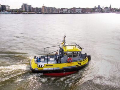 Autonomous tug from Damen embarks on 1,000 mile remote controlled trip around Denmark