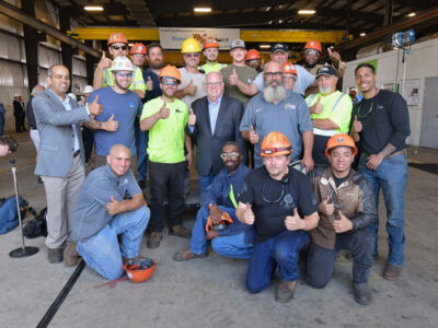 Ørsted Selects Maryland's Crystal Steel Fabricators for Major Offshore Wind Steel Fabrication Center